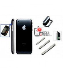 kit botón, Power, vibrador, volúmen Apple iPhone 3G Negro por 4,00 €