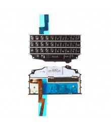 teclado QWERTY BlackBerry Q10 Negro por 12,00 €