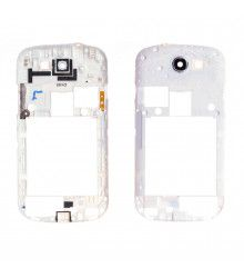 Châssis central d'occasion pour Samsung Galaxy Express (i8730) Blanc