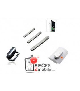 kit Power, vibrador, volúmen Apple iPhone 3G Blanco