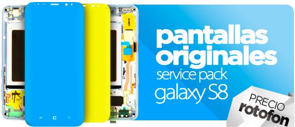 Pantallas Samsung Galaxy S8